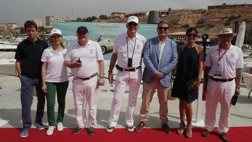 Antonio Zaforteza, Cristina García, Roman Hummelt, Alvaro Middelmann, Jason Moore, Irina Poyero y Esteban Pietzseh presidieron la entrega de premios.