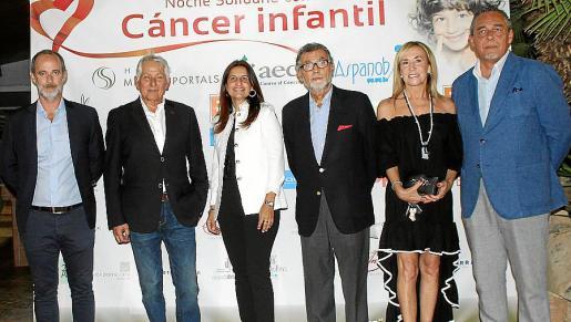 Miguel Desnos, Jaume Coll, Yolanda Sallés, Javier Cortés, Ángela Seguí y Javier Colocho.