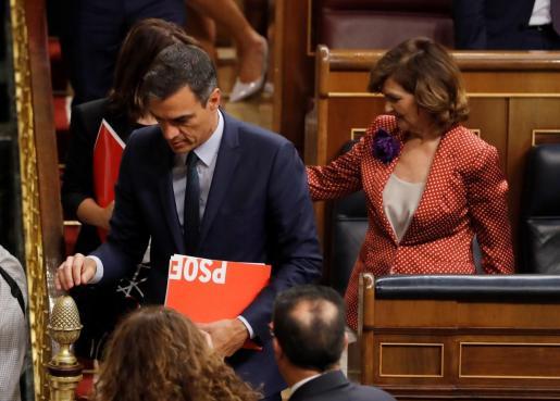 El Congreso rechazó la investidura de Pedro Sánchez el pasado mes de julio debido a la falta de acuerdo entre los partidos.