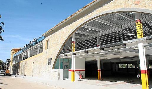 El edificio de Lepanto alberga la unidad de salud del Port.