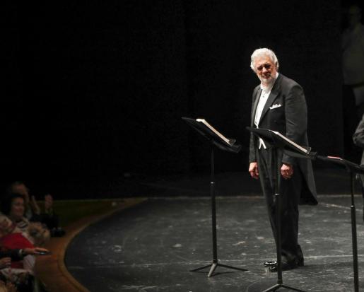 Plácido Domingo en el Salzburg Music Festival.