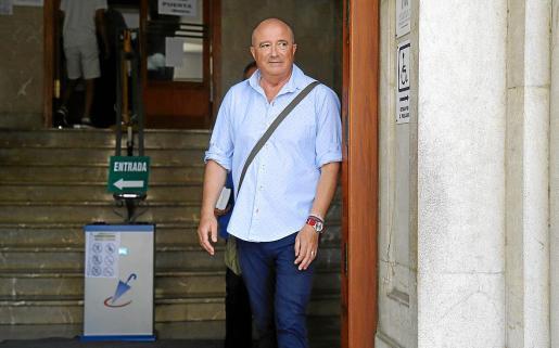 El fiscal Miguel Ángel Subirán, el pasado junio, en los juzgados de Vía Alemania.