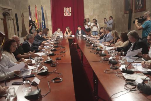 Reunión del Govern en el Consolat.