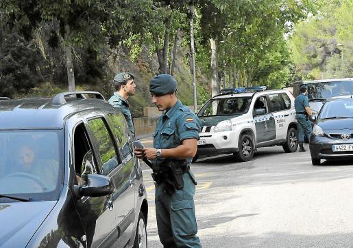 Agentes de la Guardia Civil de Calvià detuvieron al sospechoso en 2017.