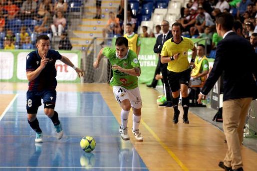Mati Rosa, durante el primer partido de la presente temporada.