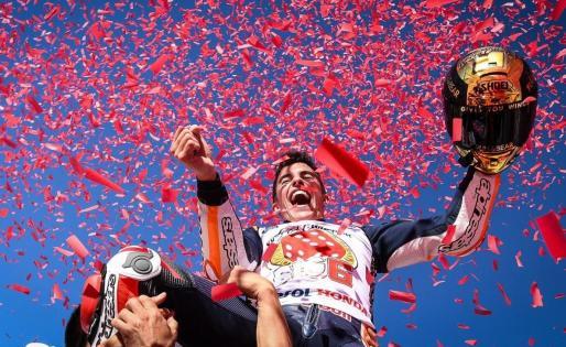 El piloto Marc Márquez, campeón del mundo Moto GP.