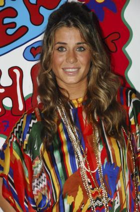Foto de archivo de Elena Tablada, durante una fiesta en Eivissa