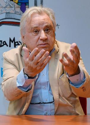 Imagen de archivo del 13 de junio de 2016 del santanderino José Sámano, el productor de las obras de Miguel Delibes en su adaptación al teatro y de programas de televisión como 'Buenas Noches'.