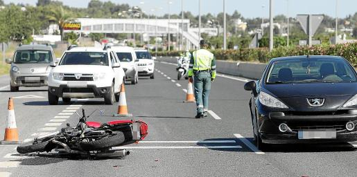 Los motoristas, ciclistas y peatones son los usuarios de las carreteras más vulnerables.