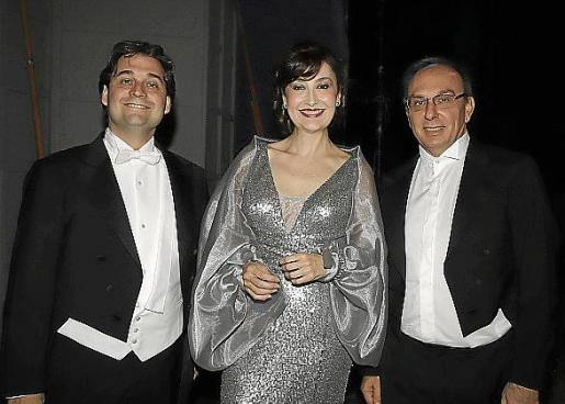 Pablo Mielgo, María José Montiel y Smerald Spahiu.