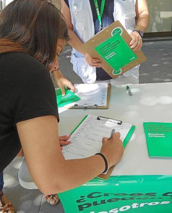 Once meses lleva SATSE recabando apoyos en calles, plazas y centros sanitarios de Baleares pidiendo una iniciativa legislativa popular que se mantendrá «viva» para ser debatida en la próxima legislatura, tras las próximas elecciones.