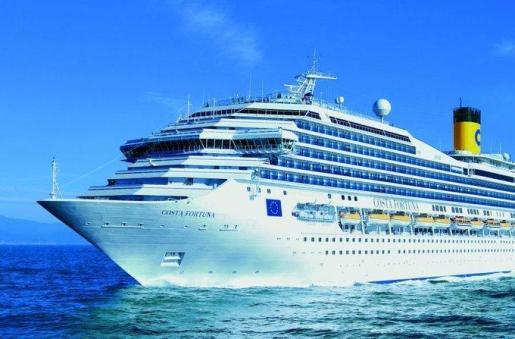 El hombre trasladado realizaba un crucero a bordo del Costa Fortuna.