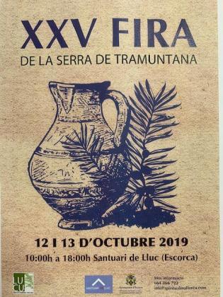 El Santuari de Lluc acoge un año más la Fira de la Serra de Tramuntana.