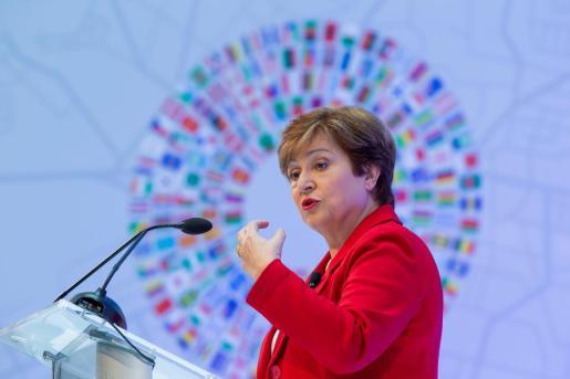 Kristalina Georgieva, directora del Fondo Monetario Internacional.