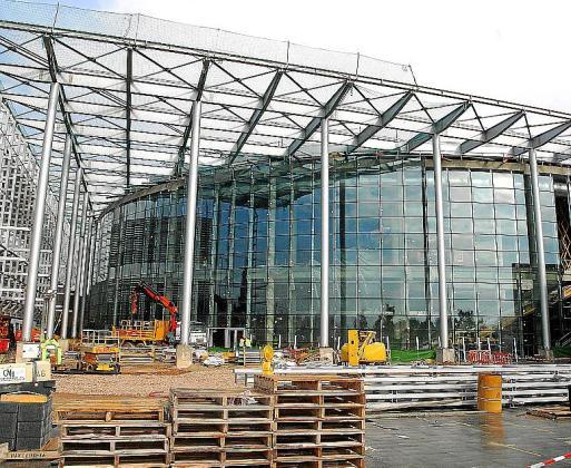 Las obras del Palma Arena terminaron en 2007.