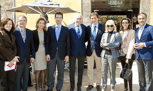 Catalina Sureda, Joan Rotger, María José Barceló, Fernando Gilet, Antonio Escámez, Mateo Isern, Concha Domínguez de Posada, María Rumeu e Ignacio Alcaraz.