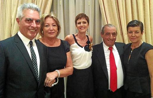 Angel Santos, Elo Gutiérrez, María Campo, Juan José Hidalgo y Carmen Serra.