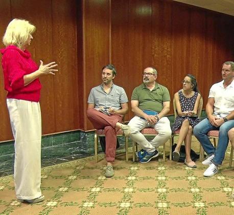 Los más de 25 años de experiencia en comunicación en empresas públicas y privadas de Xesca Vidal se han palpado en sus clases, que han permitido a los finalistas comunicar mejor sus proyectos.