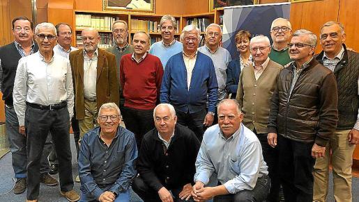 Miembros de SECOT, formada por veteranos emprendedores