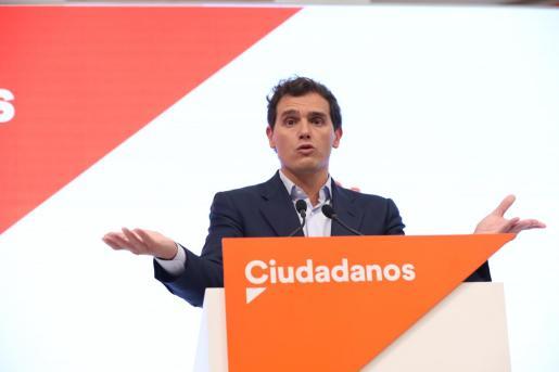 El presidente y candidato de Ciudadanos, Albert Rivera.