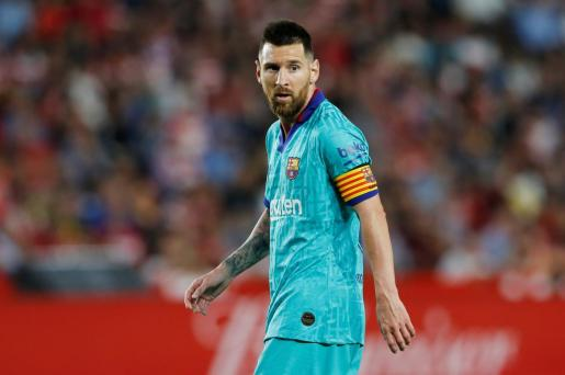 Leo Messi, en una reciente imagen en un partido del Barcelona.