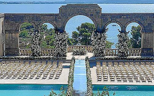La Fortaleza se ha convertido en uno de los lugares más exclusivos e idílicos para la celebraciones nupciales.
