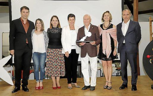 Pau Cortés, Maite Vasallo, Yolanda Rodríguez, Carmen Serra, Gabriel Sampol, Carmen Sampol y Ramón Juan.