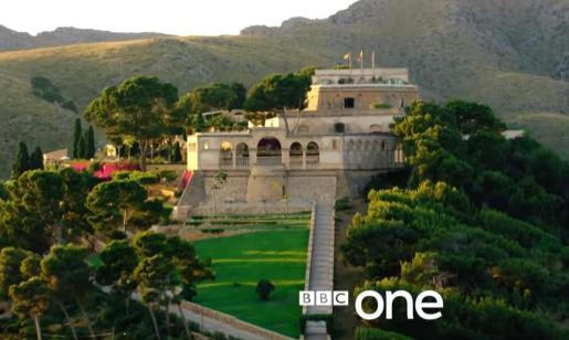 Imagen general de La Fortalesa en un fotograma de la serie británica 'El infiltrado'.