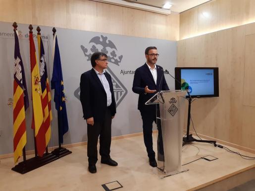 Imagen de la rueda de prensa para presentar el nuevo proyecto de Emaya.