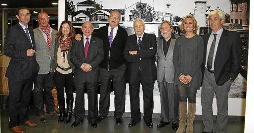 Alejandro Saenz de San Pedro, Miguel Rullán, Marina Subira, Francisco Martorell, Miguel Bordoy, Miguel Verd, Juan Carlos Rosselló, Amparo Díez y Joan Verd.