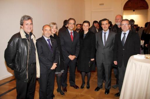 Joan Salas, Antonio Gómez, Bel Cerdà, Rafael Bosch, Paula Serra, Antoni Vera y Joan Rotger.