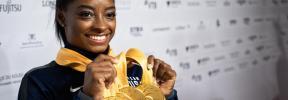 Simone Biles pulveriza todos los récords