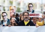 Las imágenes de las protestas por la sentencia del 'procés'