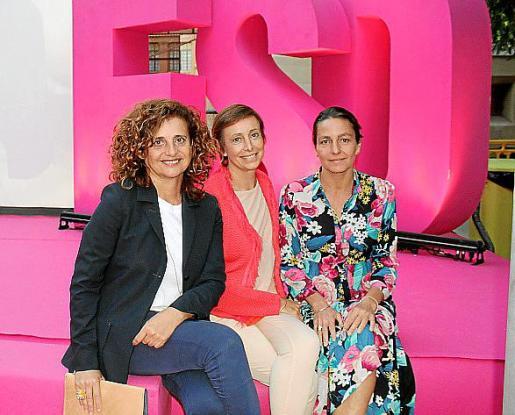 Raquel Arañón, Mar Vilalta y Elena Segura.