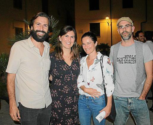 Esteve Torres, Nuria Maruny, Cristina Llorente y Juanjo Suárez.