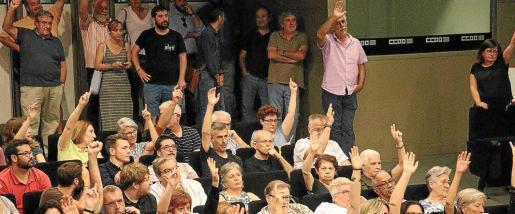 Imagen de una asamblea que Més celebró en junio de este año. El congreso se celebrará a finales de noviembre.