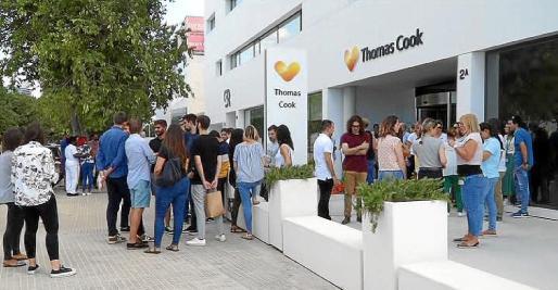 En la sede de Thomas Cook en Palma trabajan 700 empleados.