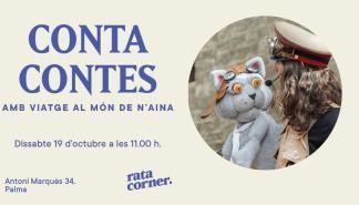 Vuelven a Rata Corner los cuentacuentos de 'Viatge al món de n'Aina'