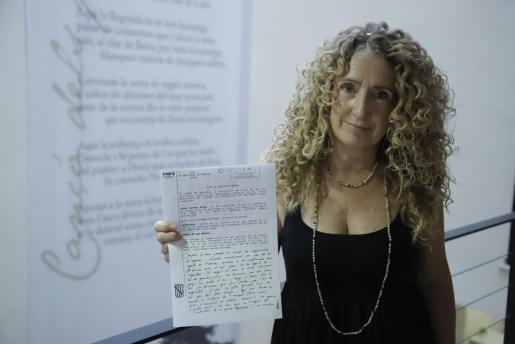 Paula Totger, sancionada por Aena por hablar en catalán.