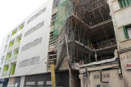 Imagen de archivo de una construcción de VPO en Palma.
