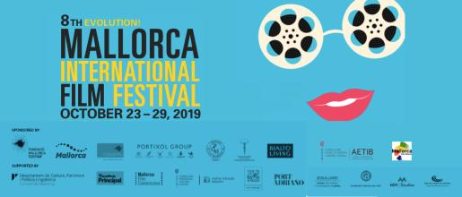 Cartel de la octava edición del Evolution! Mallorca International Film Festival.