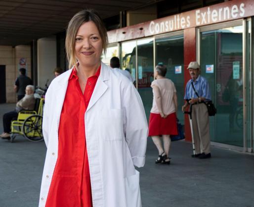 La doctora Joana Nicolau, endocrina del Hospital de Son Llàtzer.