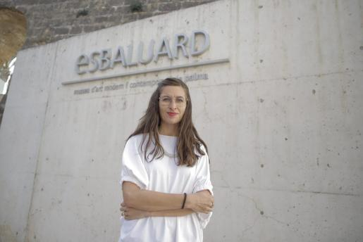 La nueva directora de Es Baluard, Imma Prieto.