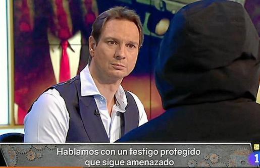 El testigo 29 en una intervención en Televisión Española.