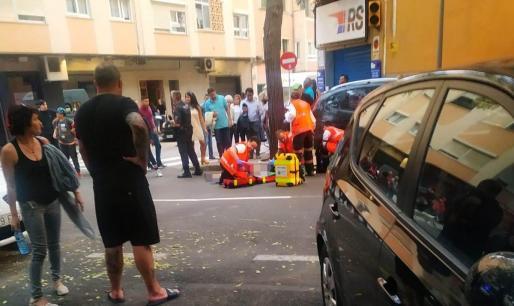 Atropellan a un niño en Palma.