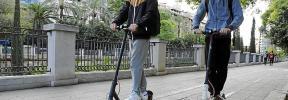 Primeros controles para sancionar las infracciones de los patinetes eléctricos