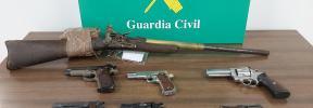 Detenida una persona en Palma por tenencia ilícita de armas