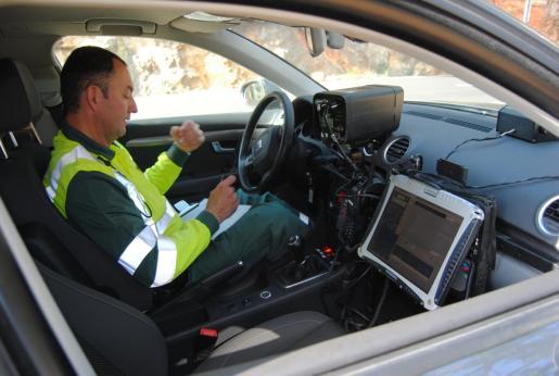 Los agentes de la Agrupación de Tráfico de la Guardia Civil interpusieron 6.954 multas con radares móviles.