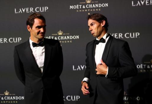 Roger Federer y Rafa Nadal, en una imagen reciente.