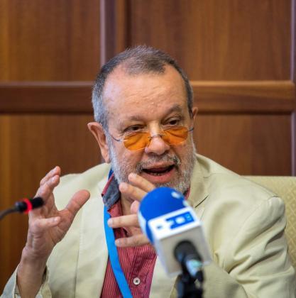 El defensor del Pueblo en funciones, Fernández Marugán.